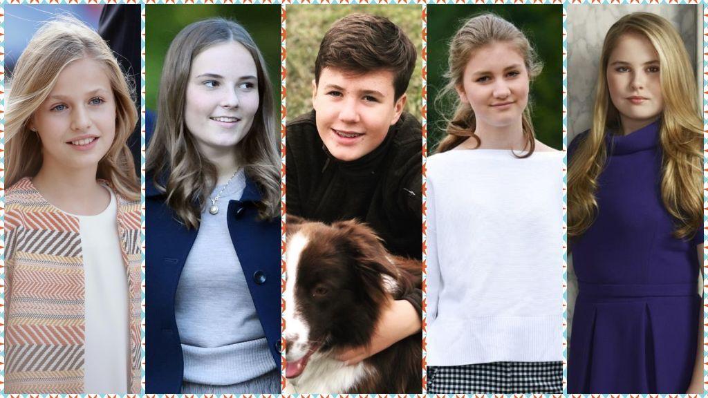 Generación Royal Teen: Leonor y los herederos europeos llegan a la adolescencia