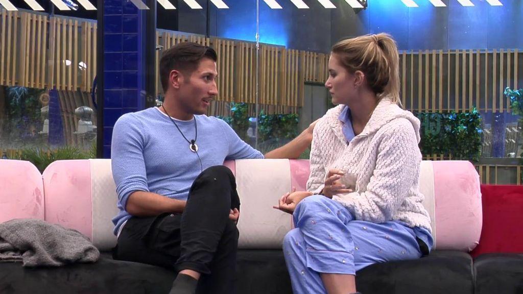 """El enfado de Alba con Gianmarco: """"Me has dejado de hablar sin motivo, no te relacionas conmigo y ya no eres la misma persona"""""""