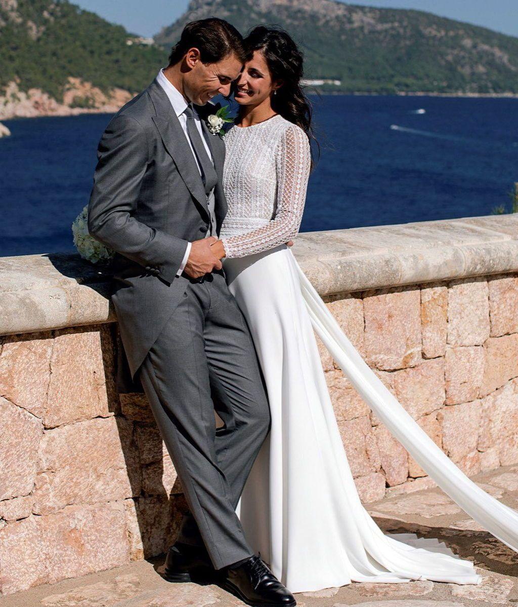 Primeras imágenes del enlace de Rafa Nadal y Mery Perelló