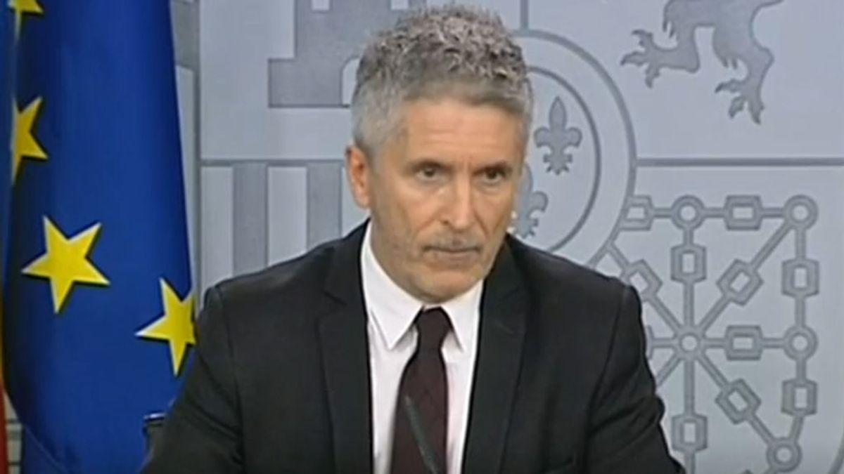 """Grande-Marlaska: """"Estamos ante un problema de orden público"""""""