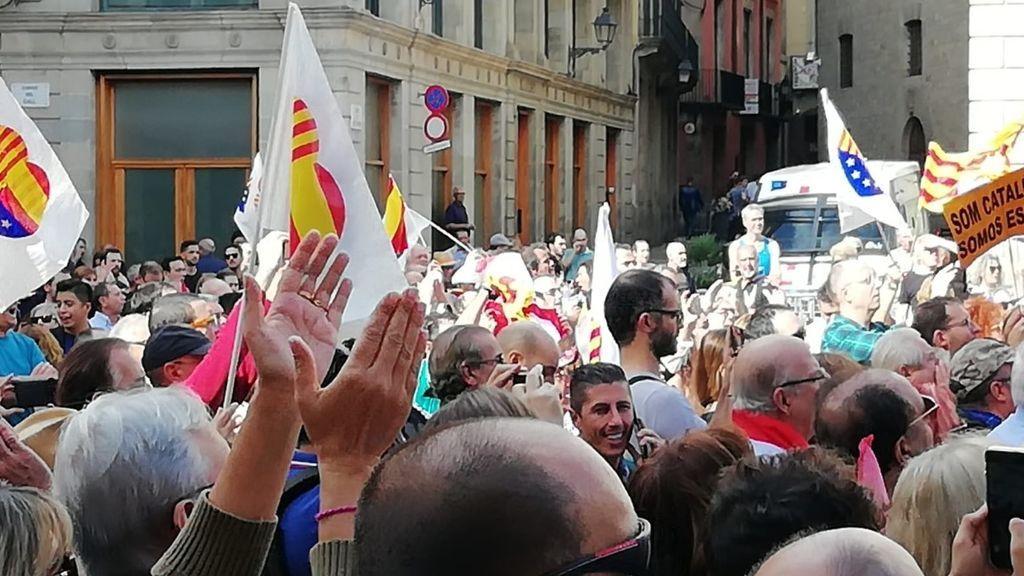 Concentración de Ciudadanos este domingo en Barcelona