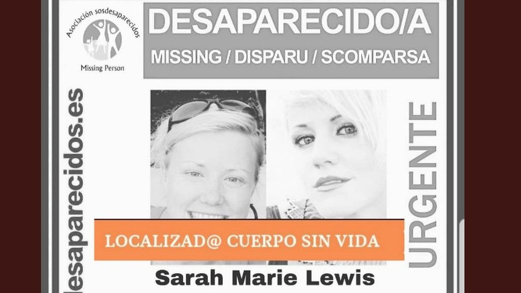 Encuentran el cuerpo sin vida de Sara Lewis, la mujer de 33 años desaparecida desde hace 15 días en Ibiza