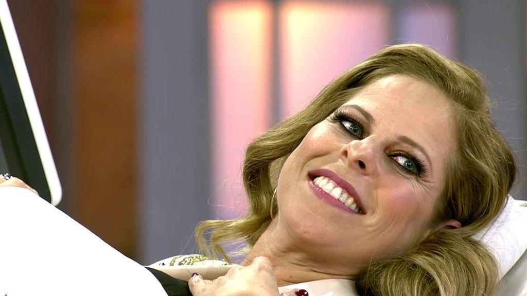 Pastora Soler escucha el latido del corazón de su bebé en 'Viva la vida'