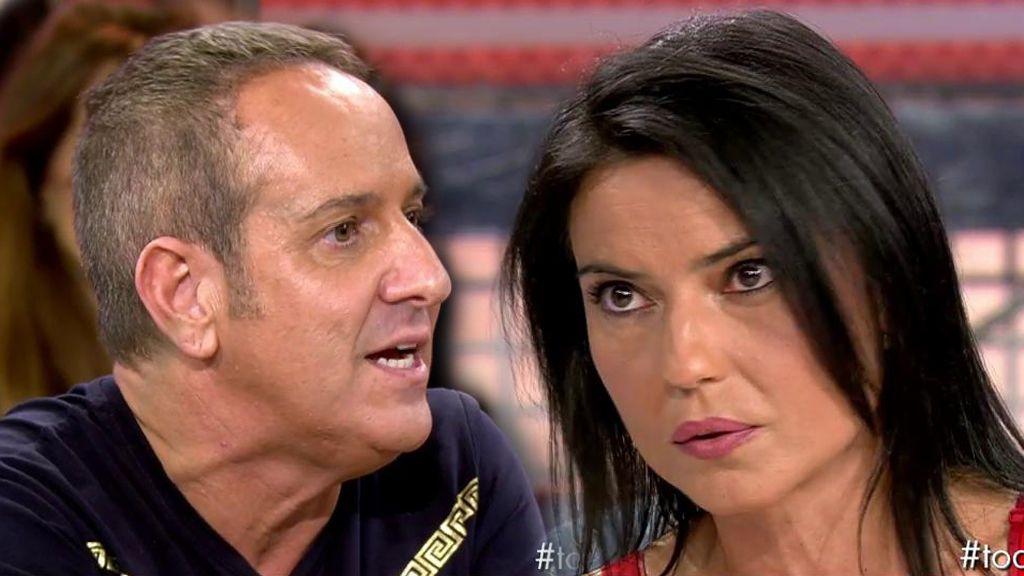 """Mari Cielo Pajares saca todo su carácter contra Víctor Sandoval: """"Si me faltas al respeto me pongo al mismo nivel"""""""