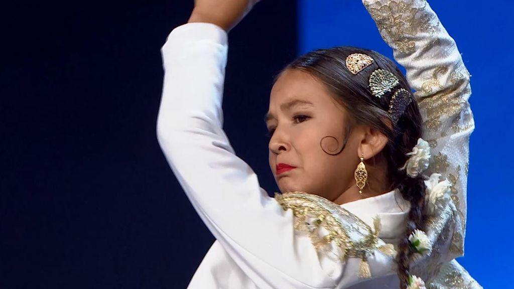 """Triana conquista al jurado con su espectáculo de flamenco: """"Yo me expreso bailando"""""""