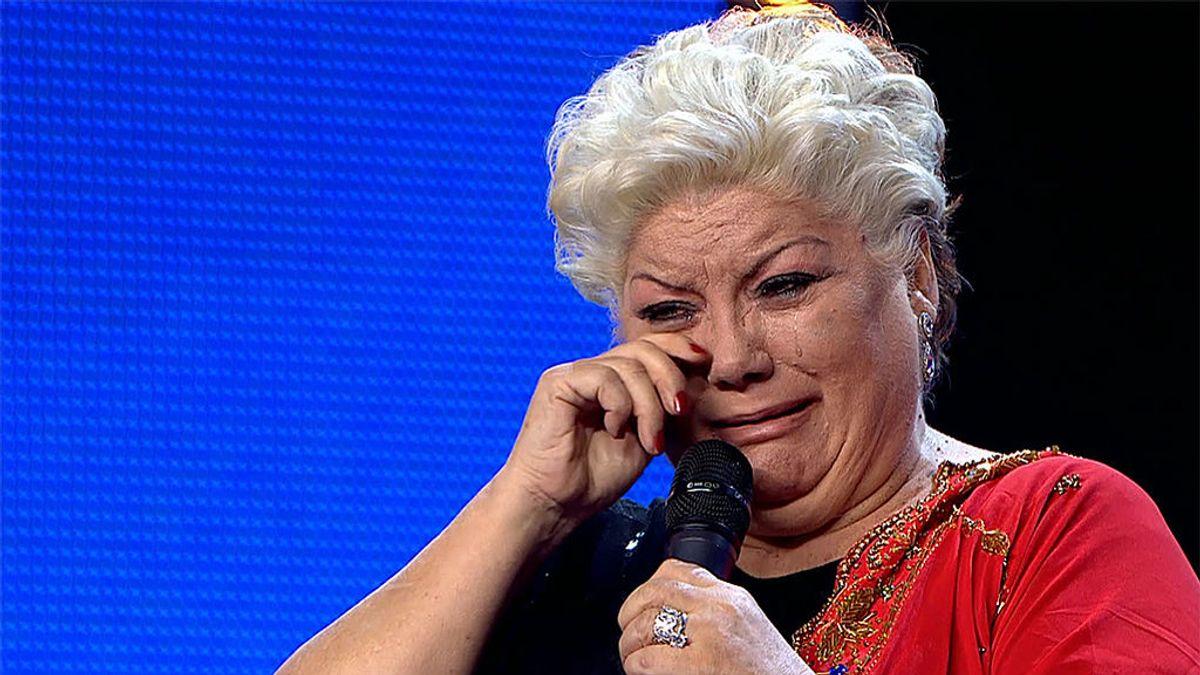 Pastora Reyes se despide de su carrera musical con una emocionante actuación