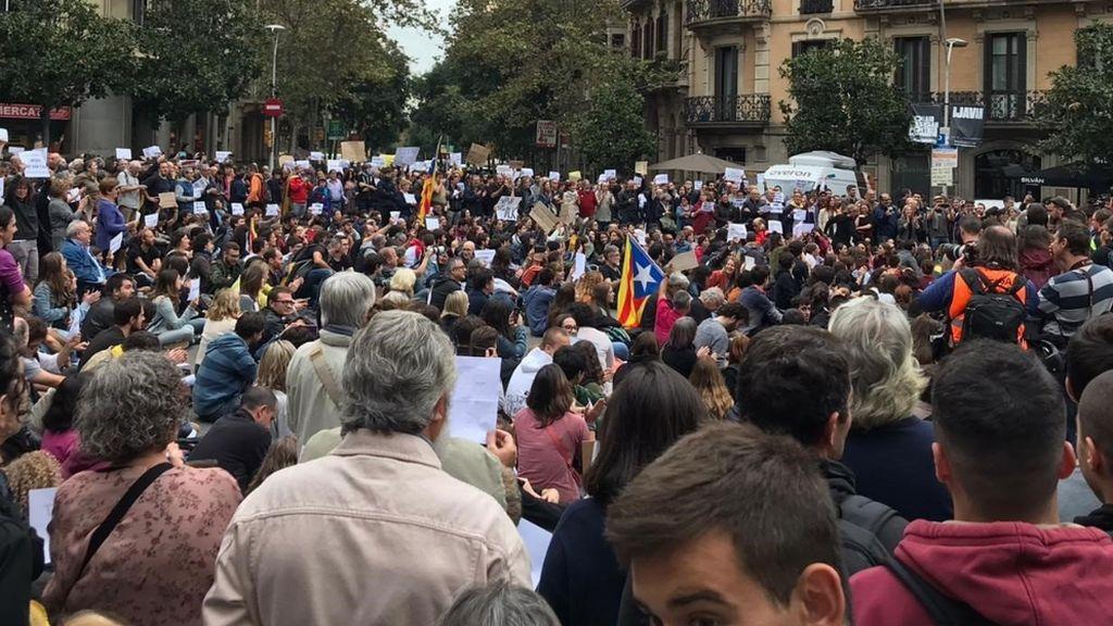 concentracion cataluña