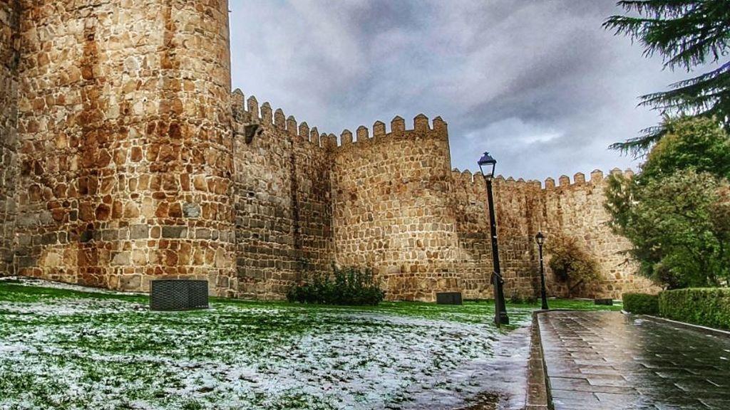 Fuerte granizada en Ávila, una de las provincias más castigadas por la sequía