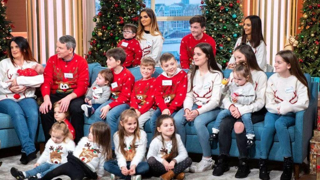 La familia Radford: 22 hijos y los que hagan falta
