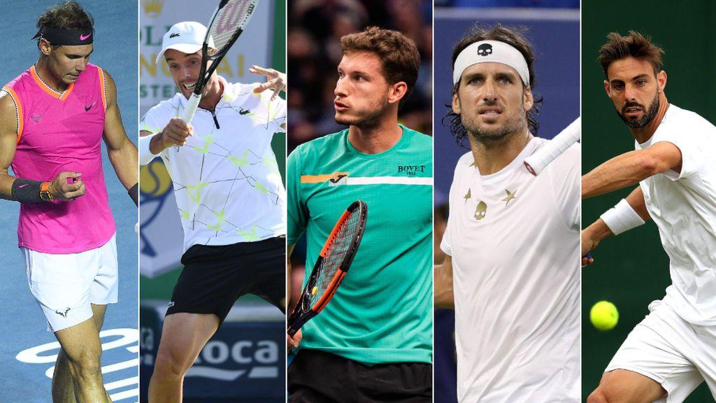 Nadal, Bautista, Carreño, Feliciano y Granollers formarán la 'Armada Española' para conquistar la primera Copa Davis de Piqué