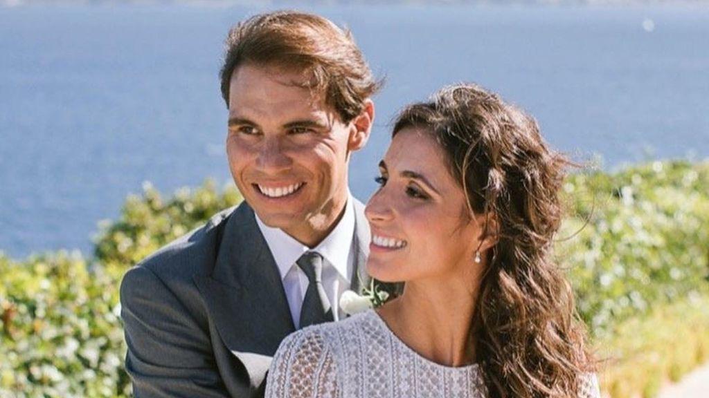 Rafa Nadal y Xisca Perelló: las primeras imágenes de su boda