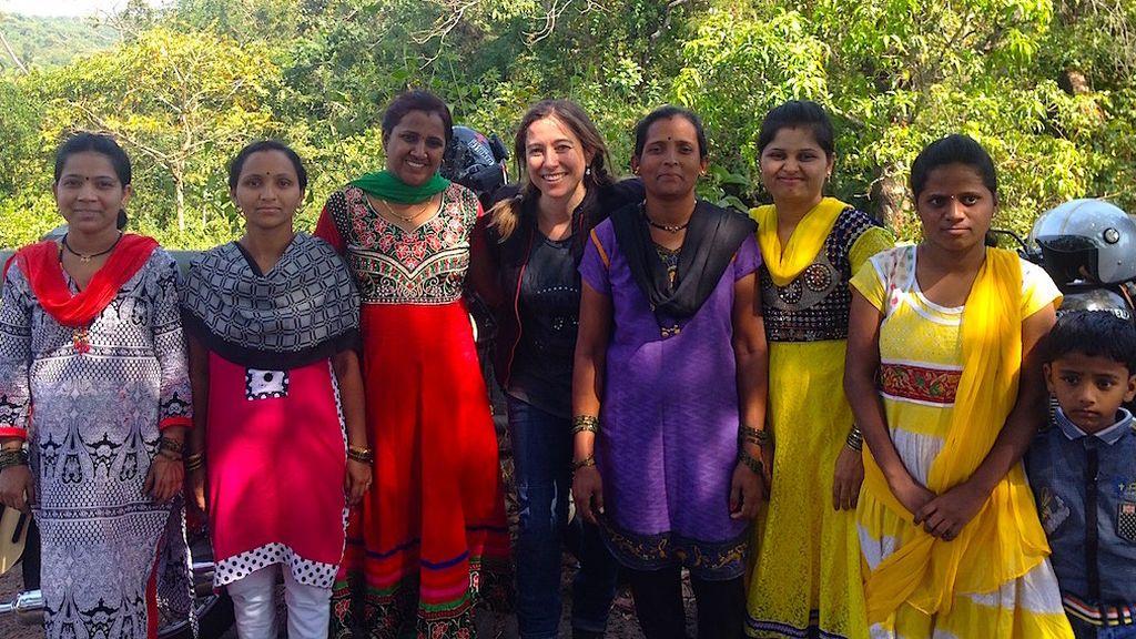 Claxon, gasofa y picante: lo que aprendí en mi ruta en moto por la India