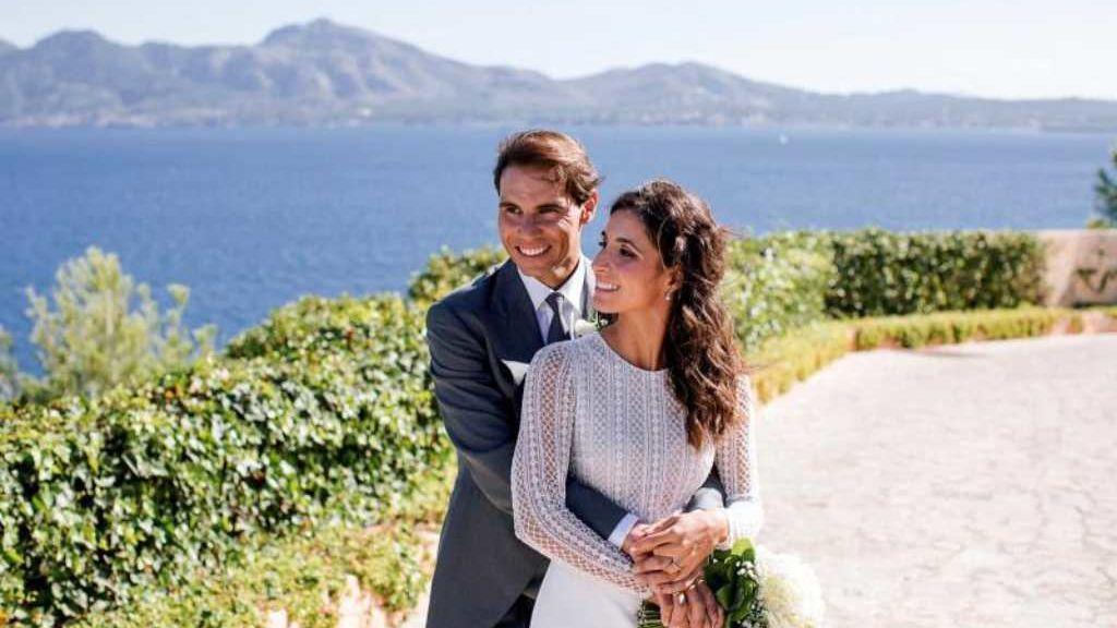 Rafa Nadal y Mery Perelló se casan en una boda secreta en Mallorca