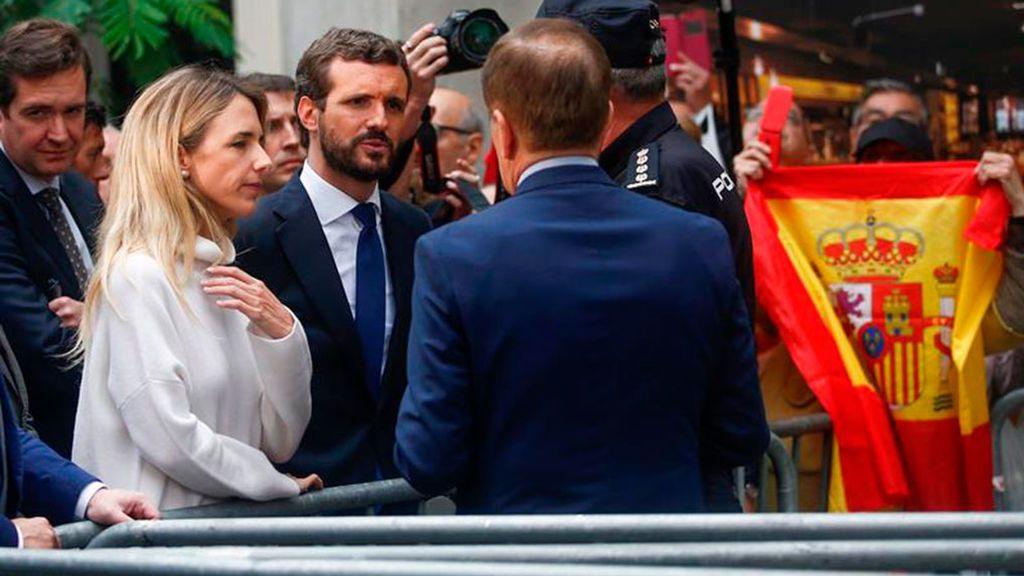 Casado pide trasladar fuera de Cataluña a los presos del 'procés'