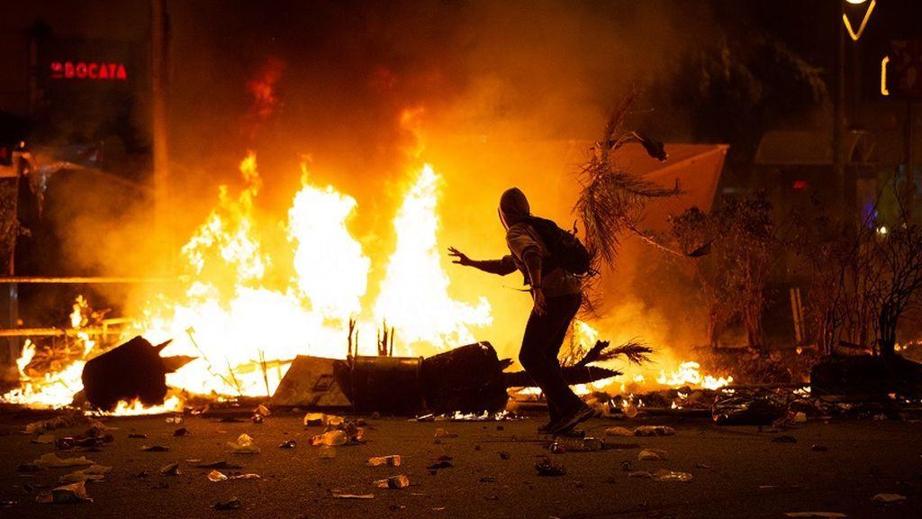 Los disturbios de Barcelona golpean al turismo y al comercio