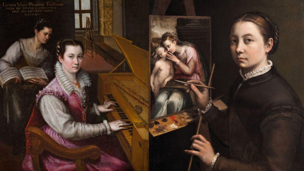 Sofonisba y Lavinia toman el Prado en nombre de las mujeres