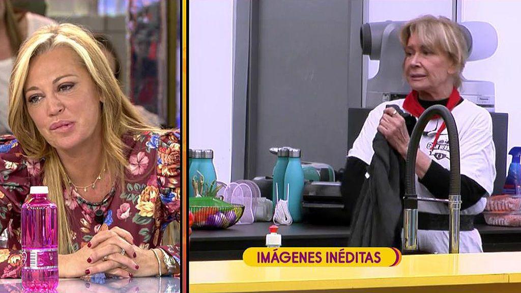 """Mila Ximénez habla de 'Sálvame' en 'GH VIP': """"Belén es muy poco rencorosa, no me tuvo en cuenta lo que dije de ella en el reality"""""""