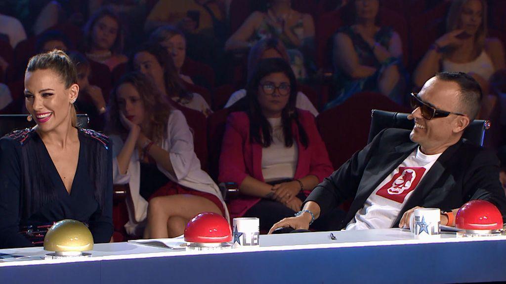 """El guiño de Edurne a David De Gea en 'Got Talent': """"A una isla desierta me llevaría a mi chico"""""""