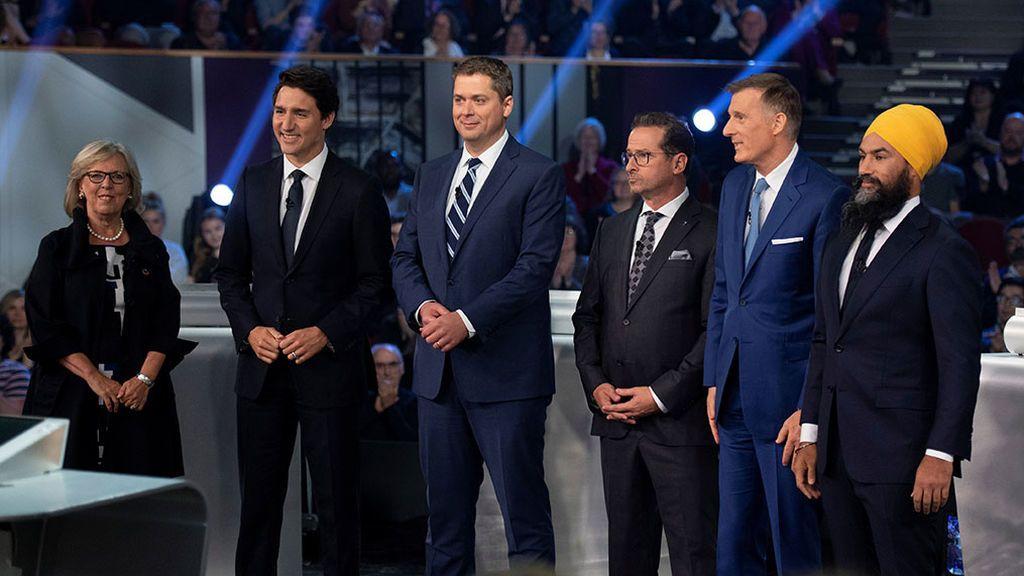 Elecciones en Canadá:  ¿quién es quién?