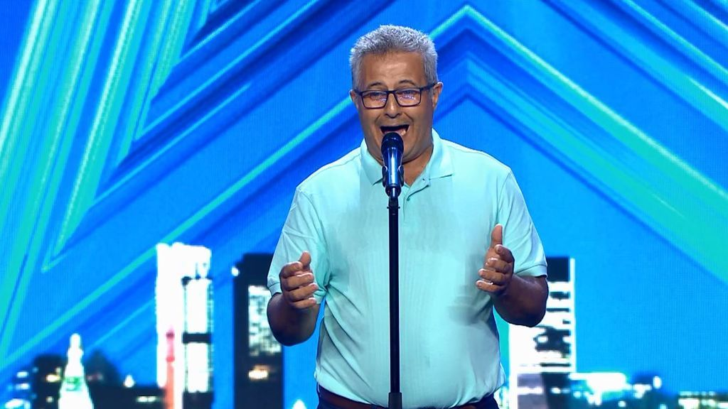 El emotivo regalo de Guillermo Caballero a su amigo enfermo en 'Got Talent'