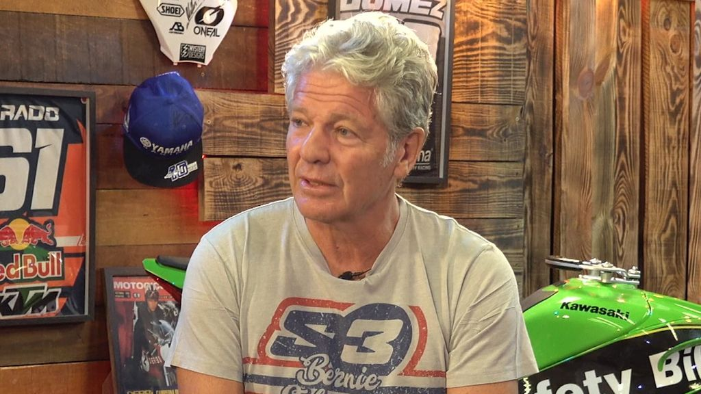 Bernie Schreiber, primer campeón del mundo de trial americano, en 'Locos por las motos'