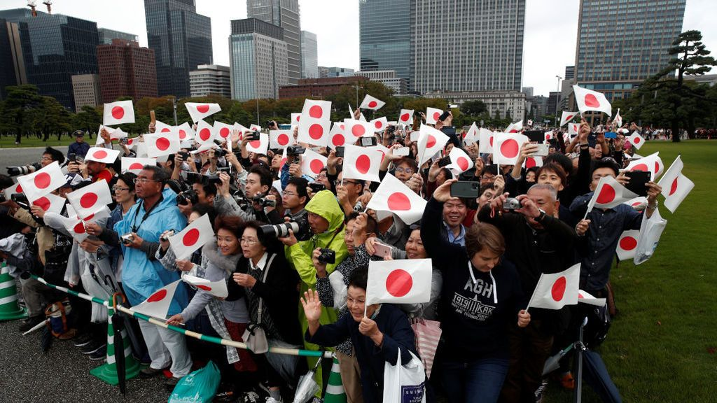 El álbum de la subida de Naruhito al trono de Japón