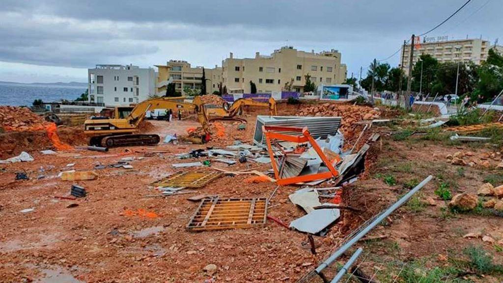 La DANA deja tres herido en Ibiza, 130 litros en Levante y alerta roja en Cataluña
