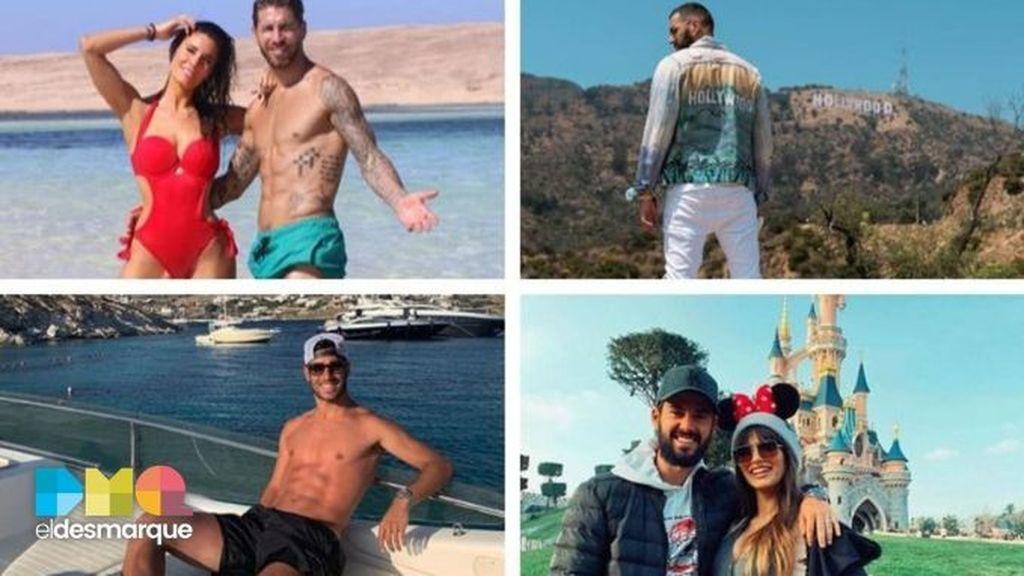 vacaciones jugadores madrid