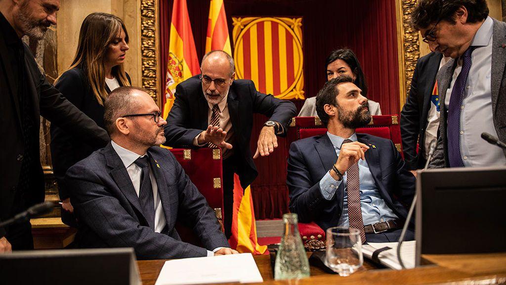 Los partidos independentistas retan al Tribunal Constitucional al exigir debatir sobre la autodeterminación