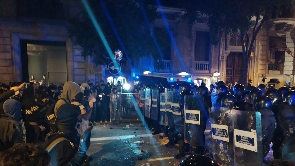 Los disturbios en Barcelona causan daños valorados en 3,1 millones de euros