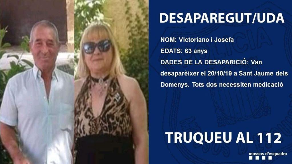 Hallan muerto al matrimonio desaparecido el domingo en Sant Jaume dels Domenys (Tarragona)