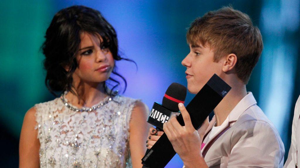 Selena Gómez y Justin Bieber, en una gala en 2011
