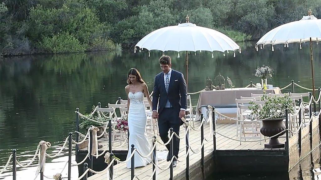 Diego Matamoros y Estela celebraron su boda en una finca sin licencia