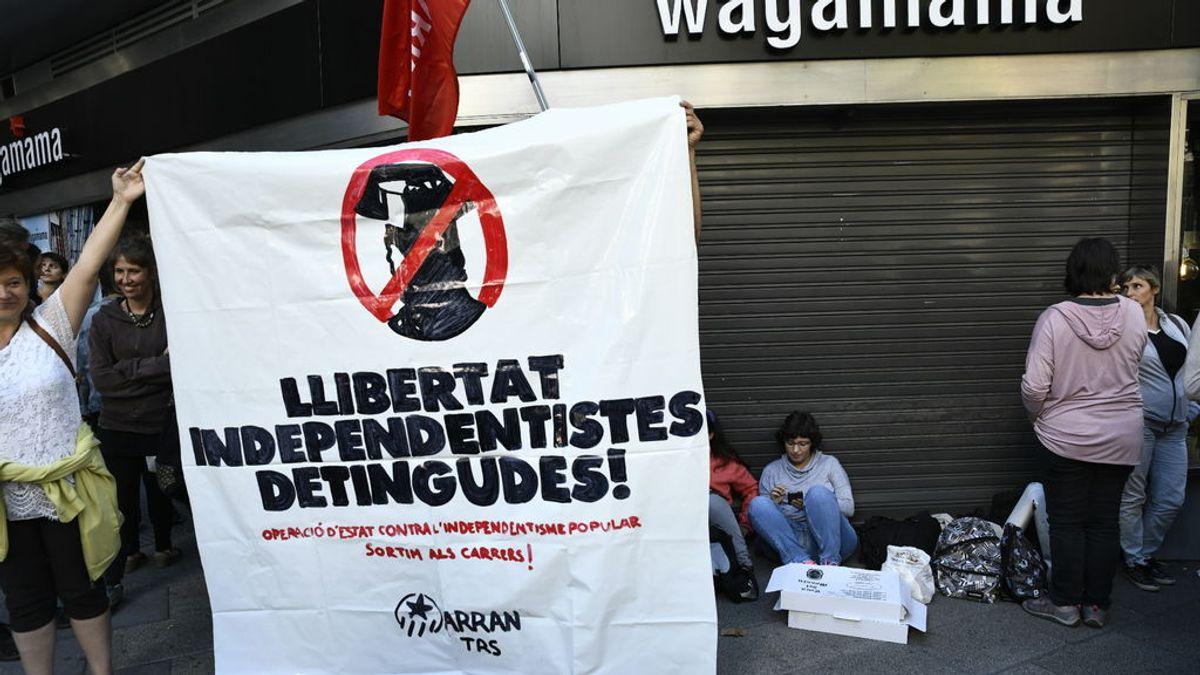Los CDR convocan un pasacalles en Barcelona para exigir la libertad de los ERT detenidos por terrorismo