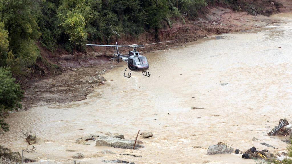 Un helicóptero sobrevuela Espluga de Francolí en busca de dos desaparecidos
