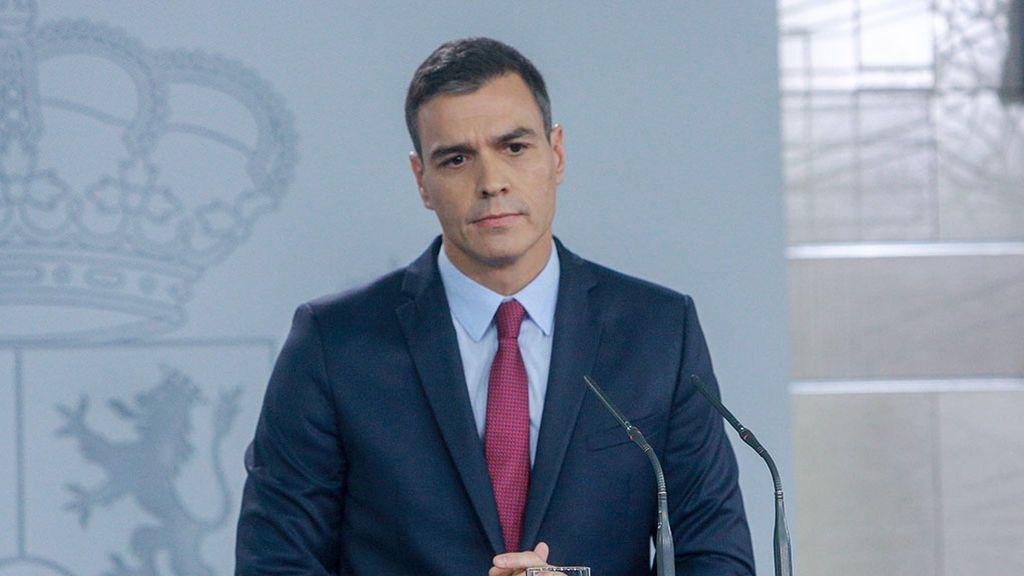 NIUS les ha ofrecido en directo la declaración institucional de Pedro Sánchez tras la exhumación de Franco