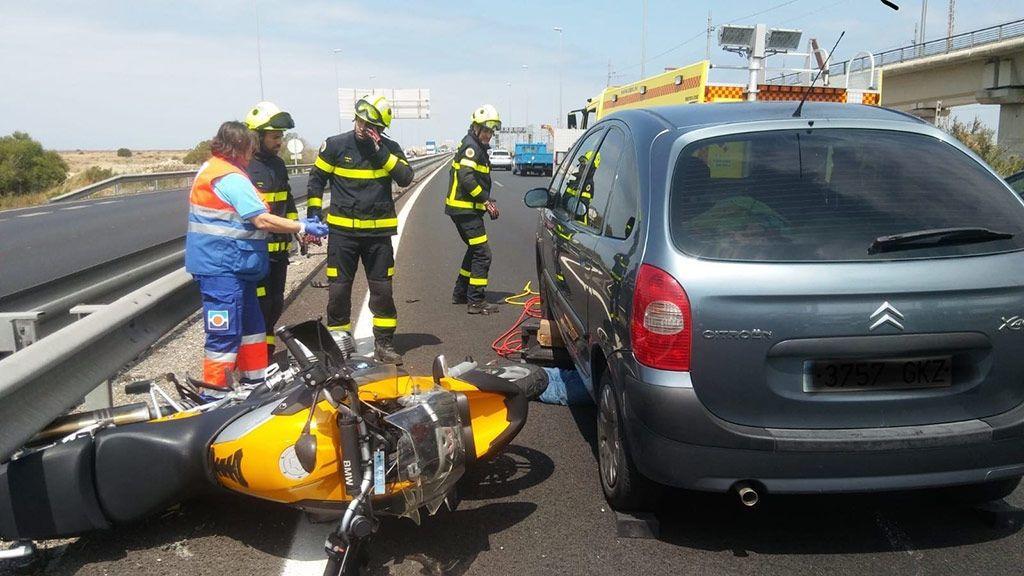 El airbag para motoristas, la última receta de la DGT para evitar muertes