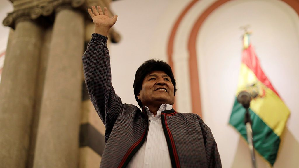 Bolivia: el recuento oficial da la victoria a Morales en la primera vuelta