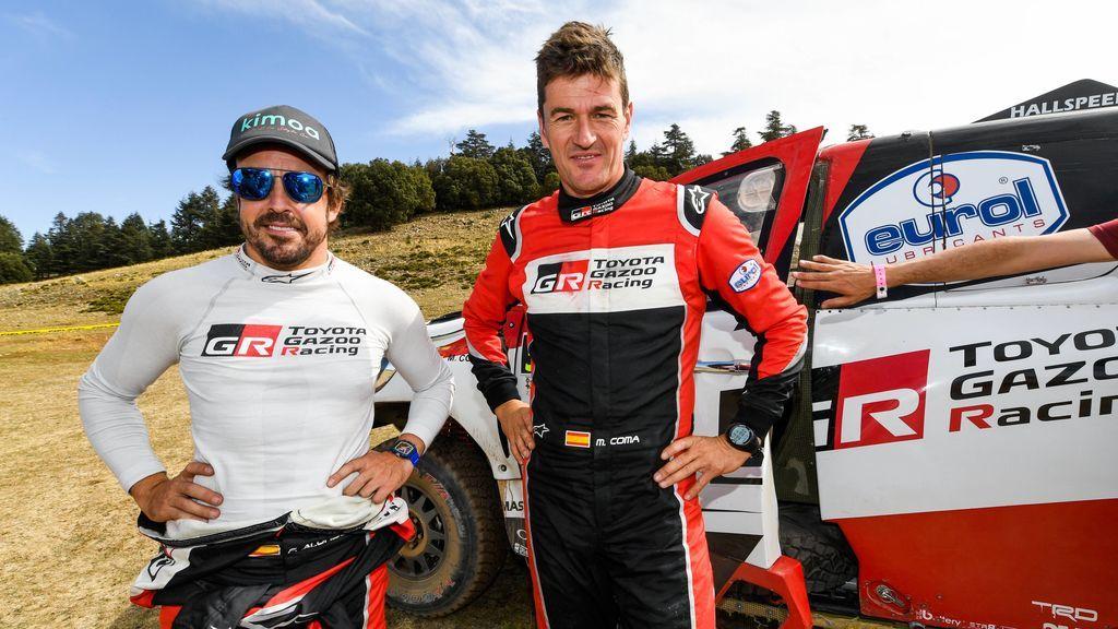 """Alonso se sincera sobre el Dakar: """"Llegar a meta es el primer objetivo, ganar una etapa es imposible"""""""