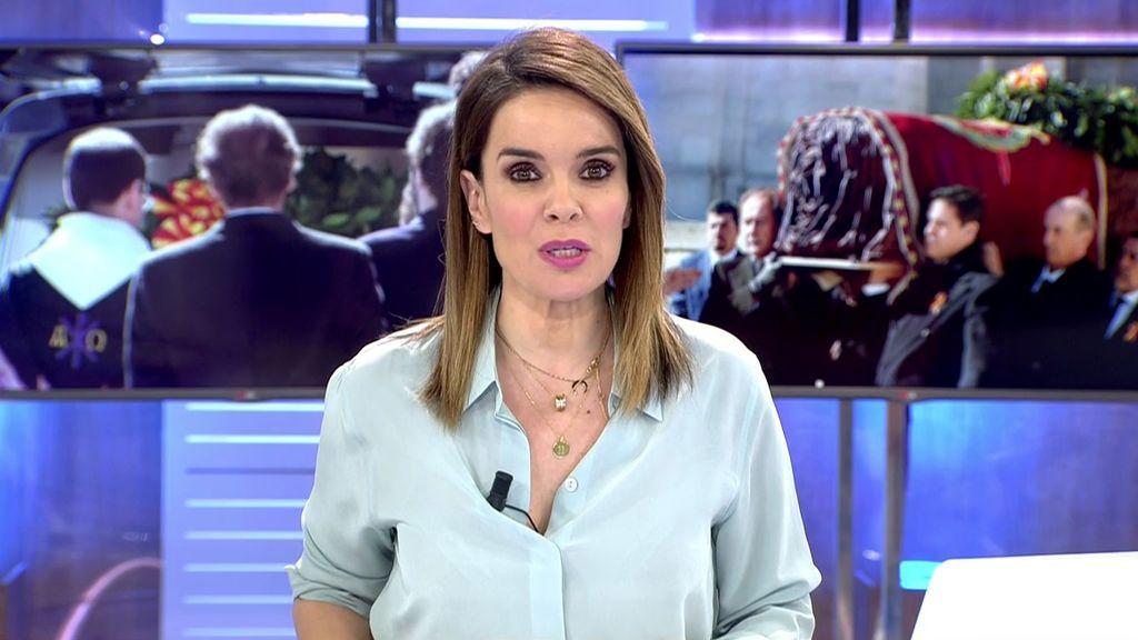 """Carme Chaparro, sobre la exhumación de Franco: """"Por fin se saca de un lugar de culto a un dictador"""""""