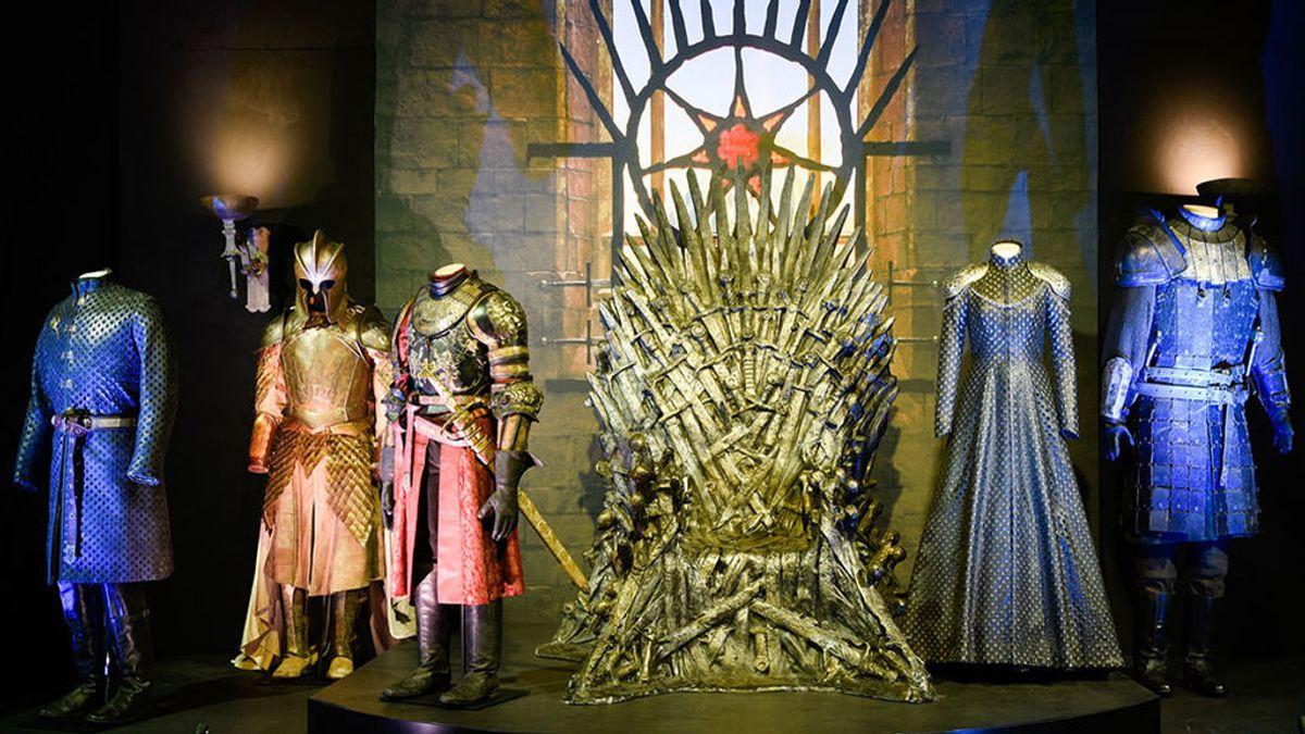 Bran Stark yDavos Seaworth abren en Madrid la exposición de 'Juego de tronos'