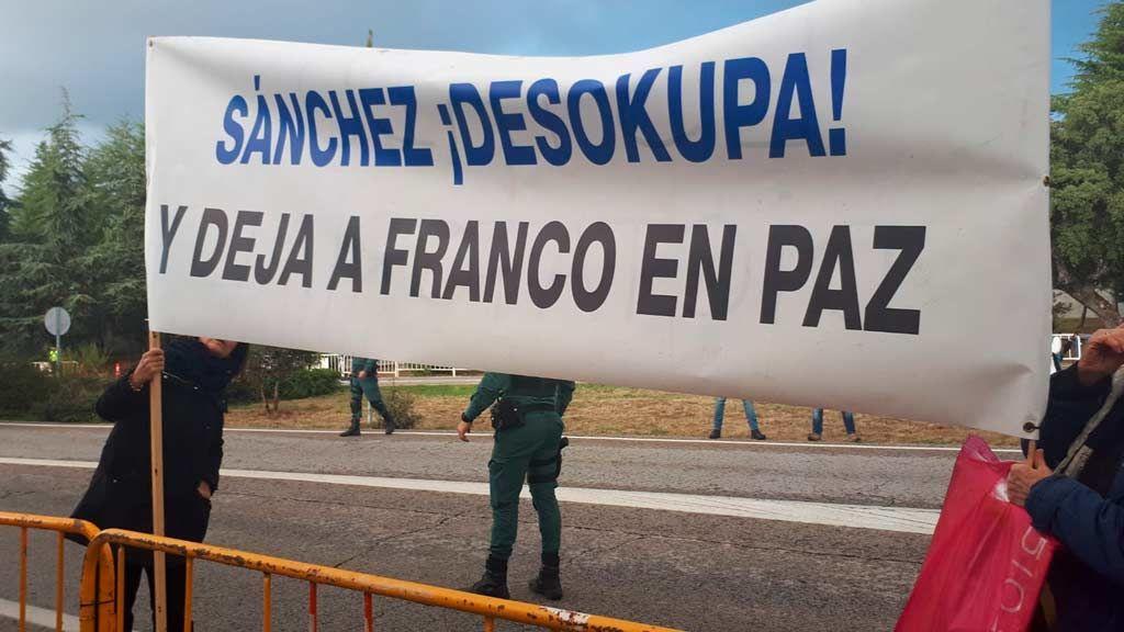 Sánchez desokupa y deja a Franco en paz