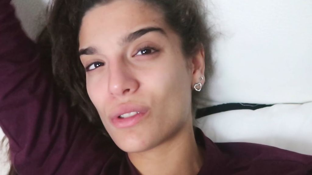 """Alma Cortés Bollo empieza a notar los síntomas del embarazo: """"He estado toda la tarde vomitando"""""""