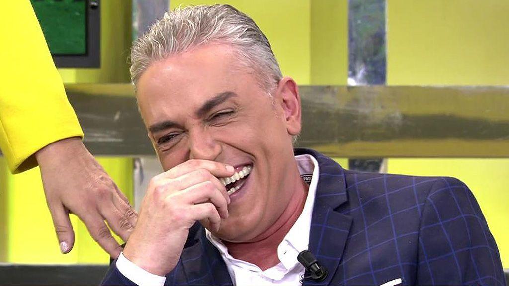 """Carlota Corredera: """"Tenemos chico nuevo en la oficina…. ¡Ah, no! ¡Es Kiko Hernández!"""""""
