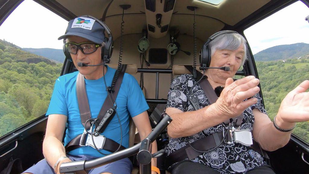 Recuperar un espectacular patrimonio histórico oculto en los bosques de Lugo, nueva misión de Calleja en 'Volando voy'