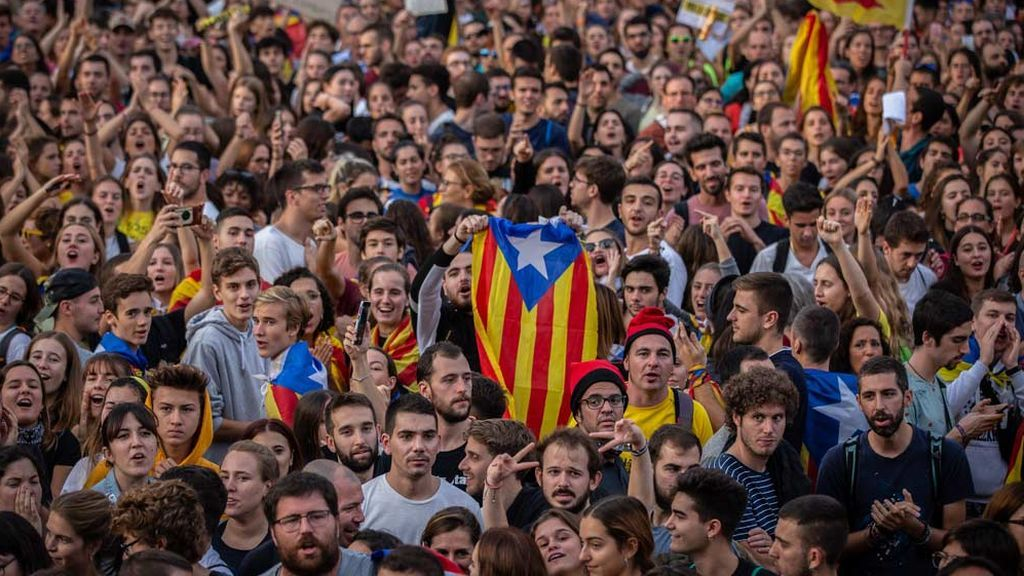 Cataluña se prepara para un fin de semana de movilizaciones