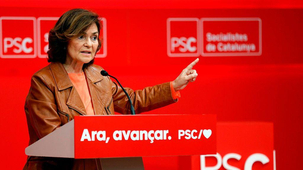"""Calvo advierte de que el Gobierno no hablará con el Govern del """"derecho a la autodeterminación, porque no existe"""""""