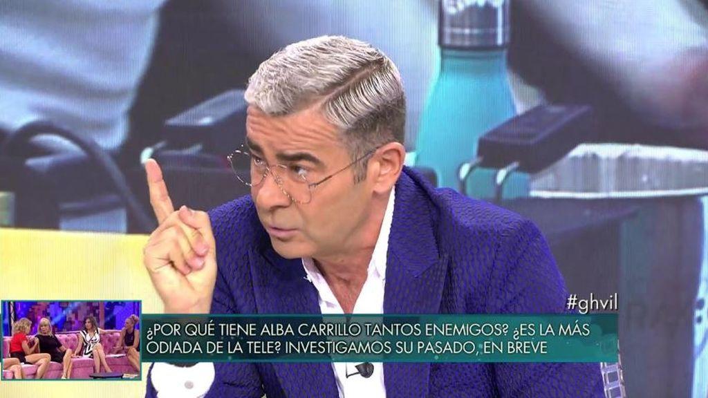 Jorge Javier y las críticas de Belén Esteban