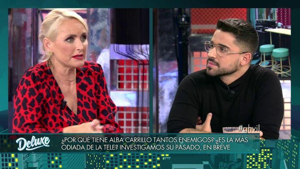 Miguel Frigenti y Lucía Pariente