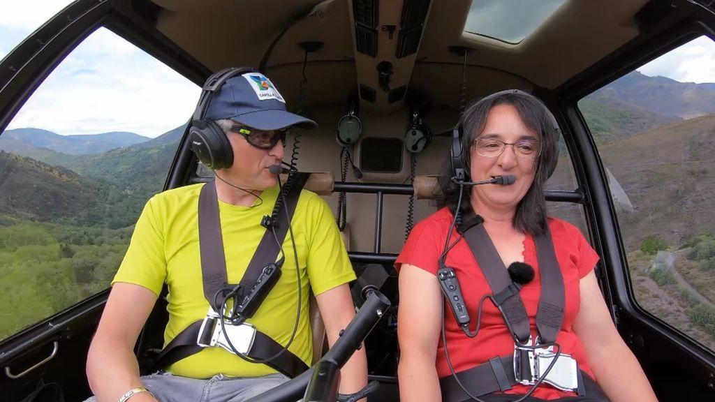 ¡Calleja se queda de piedra cuando Matilde le dice que creía que sus viajes en helicóptero eran un montaje!